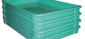 Fiberglass Material Handling Stacking Containers by MFG Tray