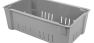 Fiberglass Material Handling Wash Box in gray by MFG Tray